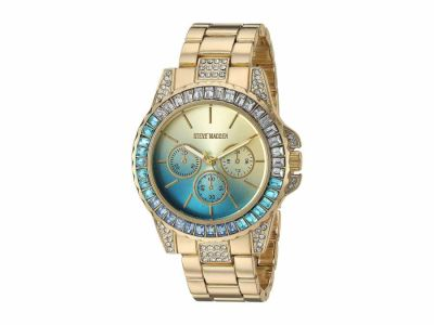 Steve Madden - Steve Madden Women's Rainbow Case Alloy Band Watch SMW176