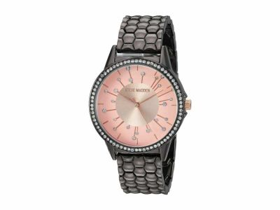 Steve Madden - Steve Madden Women's Textured Mesh Alloy Band Watch SMW171