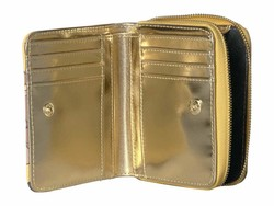 Steve Madden Yellow French Wallet Bi-Fold Wallet - Thumbnail