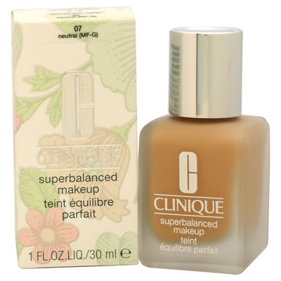 Clinique - Superbalanced Makeup - # 07 Neutral (MF-G) - Normal To Oily Skin 1oz