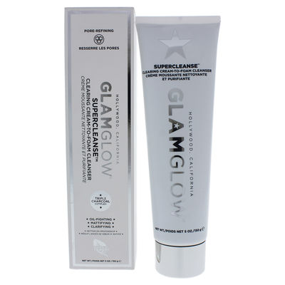 Glamglow - Supercleanse Clearing Cream-To-Foam Cleanser 5oz