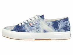 Superga Women Denim Multi 2750 Tie-Dye Sneaker Lifestyle Sneakers - Thumbnail