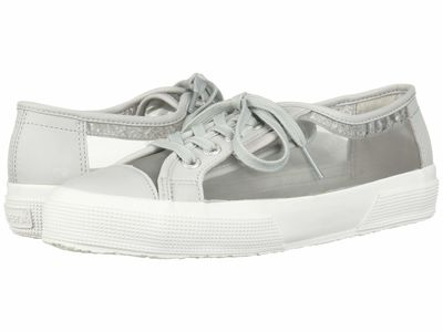 Superga - Superga Women Grey 2750 Mattnetw Lifestyle Sneakers