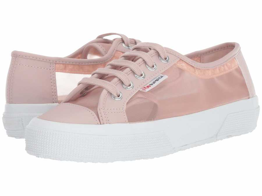 Superga Women Light Pink 2750 Mattnetw Lifestyle Sneakers
