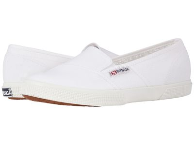 Superga - Superga Women White 2210 Cotw Slip-On Sneaker Lifestyle Sneakers
