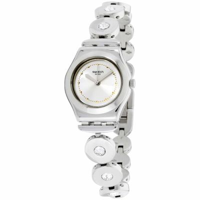 Swatch - Swatch Irony Inspirance Silver Dial Stainless Steel Ladies Watch Yss317G