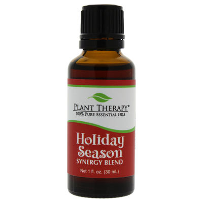 Plant Therapy - Synergy Essential Oil - Holiday Season 1oz