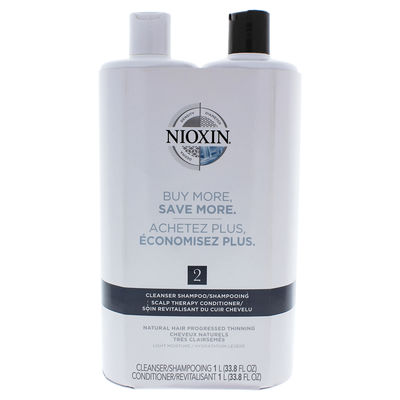Nioxin - System 2 Cleanser Scalp Therapy Conditioner Duo 33,8oz