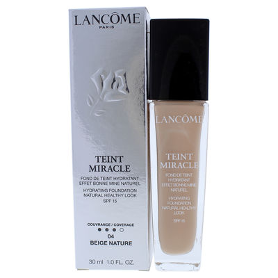 Lancome - Teint Miracle Hydrating Foundation SPF 15 - 04 Beige Nature 1oz