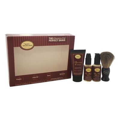 The Art of Shaving - The 4 Elements of The Perfect Shave Starter Kit - Sandalwood 4Pc Kit