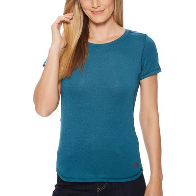 The North Face - The North Face Blue Coral Heather Short Sleeve Shade Me Shirt