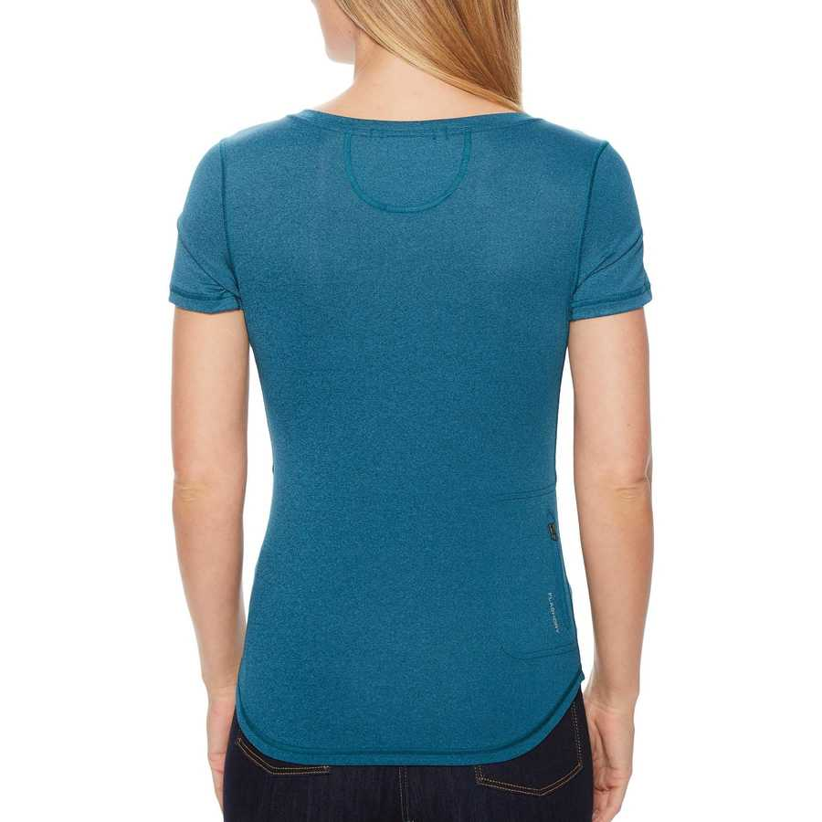 The North Face Blue Coral Heather Short Sleeve Shade Me Shirt