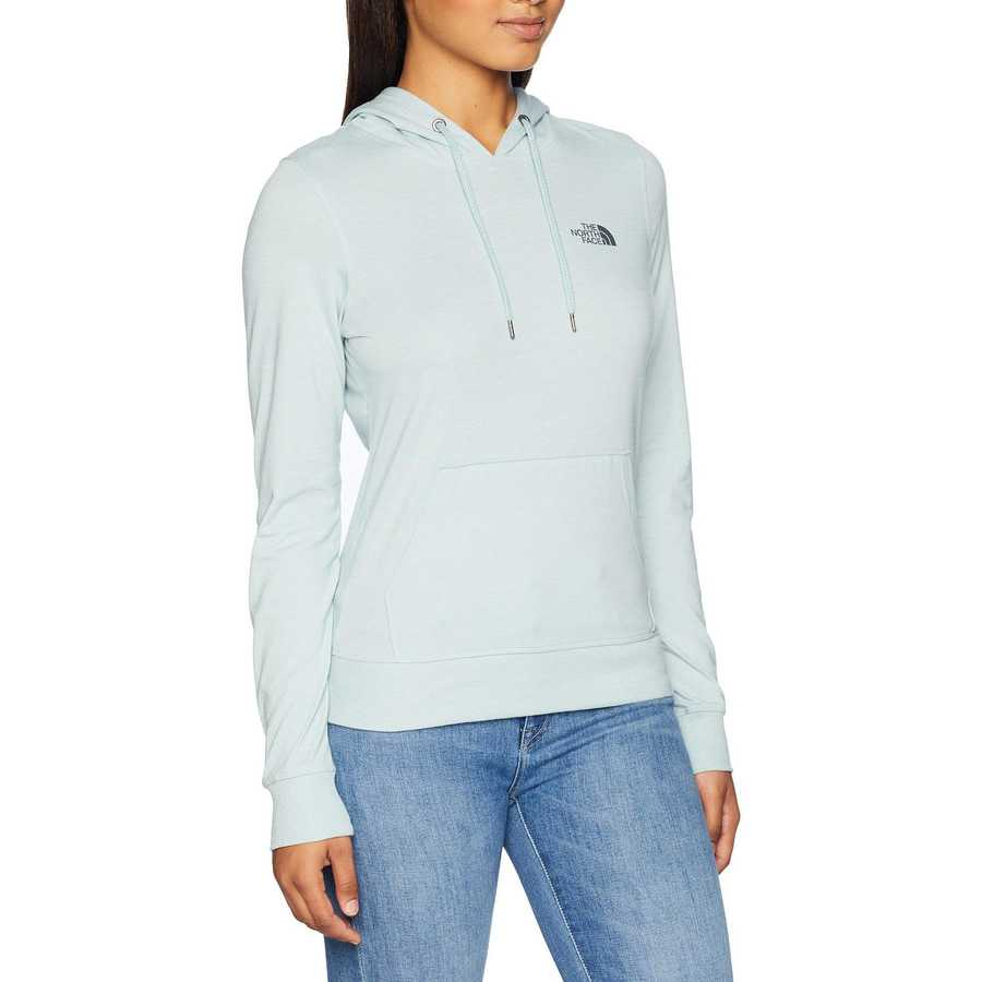 The North Face Blue Haze Heather Lightweight Tri-Blend Pullover Hoodie