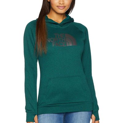 The North Face - The North Face Botanical Garden Green Heather/Asphalt Grey Fave 1/2 Dome Pullover 2.0
