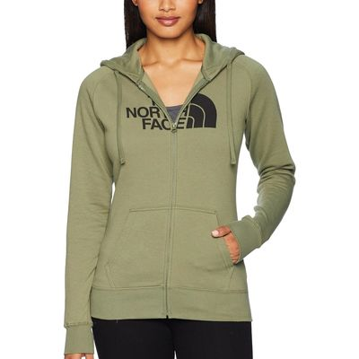 The North Face - The North Face Four Leaf Clover/Tnf Black 1/2 Dome Full Zip Hoodie