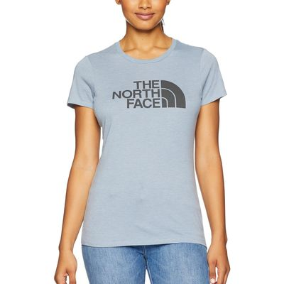 The North Face - The North Face Gulf Blue Heather/Asphalt Grey 1/2 Dome Tri-Blend Crew Tee