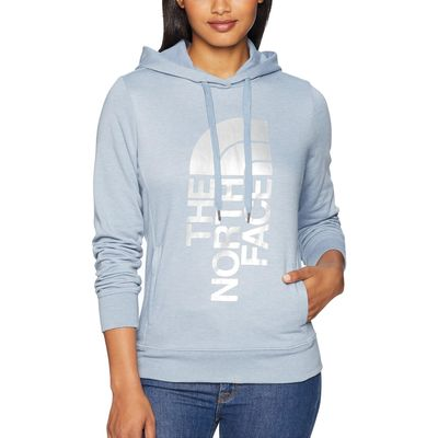 The North Face - The North Face Gull Blue Heather/Silver Foil Trivert Pullover Hoodie