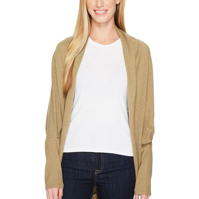 The North Face Kelp Tan Heather Woodland Sweater Wrap