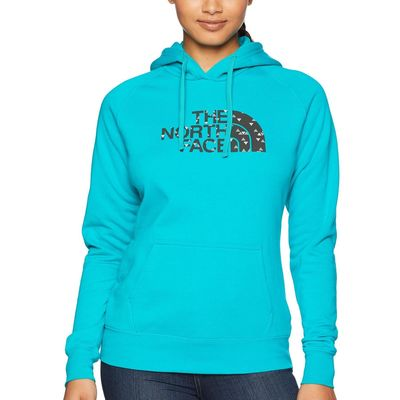 The North Face - The North Face Kokomo Green/Weathered Black Sparse Triangle Print Half Dome Pullover Hoodie