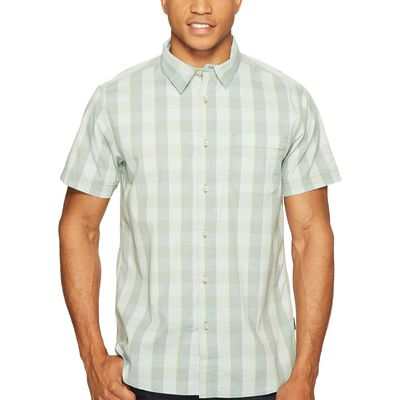 The North Face - The North Face Laurel Wreath Green Plaid (Prior Season) Short Sleeve Voyager Shirt