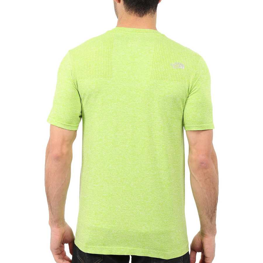 The North Face Macaw Green Heather (Prior Season) Short Sleeve Engine Crew