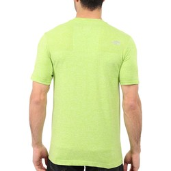 The North Face Macaw Green Heather (Prior Season) Short Sleeve Engine Crew - Thumbnail