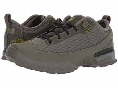 The North Face - The North Face Men's Deep Lichen Green Citronelle Green One Trail Hiking Climbing Shoes
