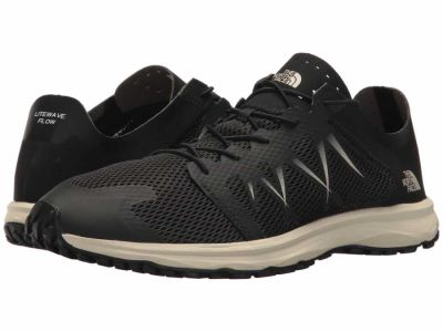 The North Face - The North Face Men's TNF Black Vintage White Litewave Flow Lace Lifestyle Sneakers