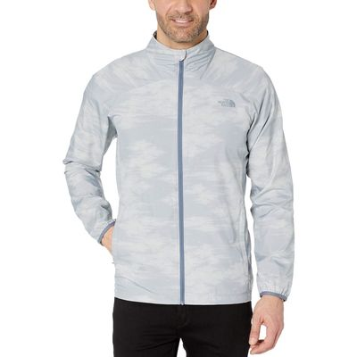 The North Face - The North Face Mid Grey Nebula Print Ambition Jacket