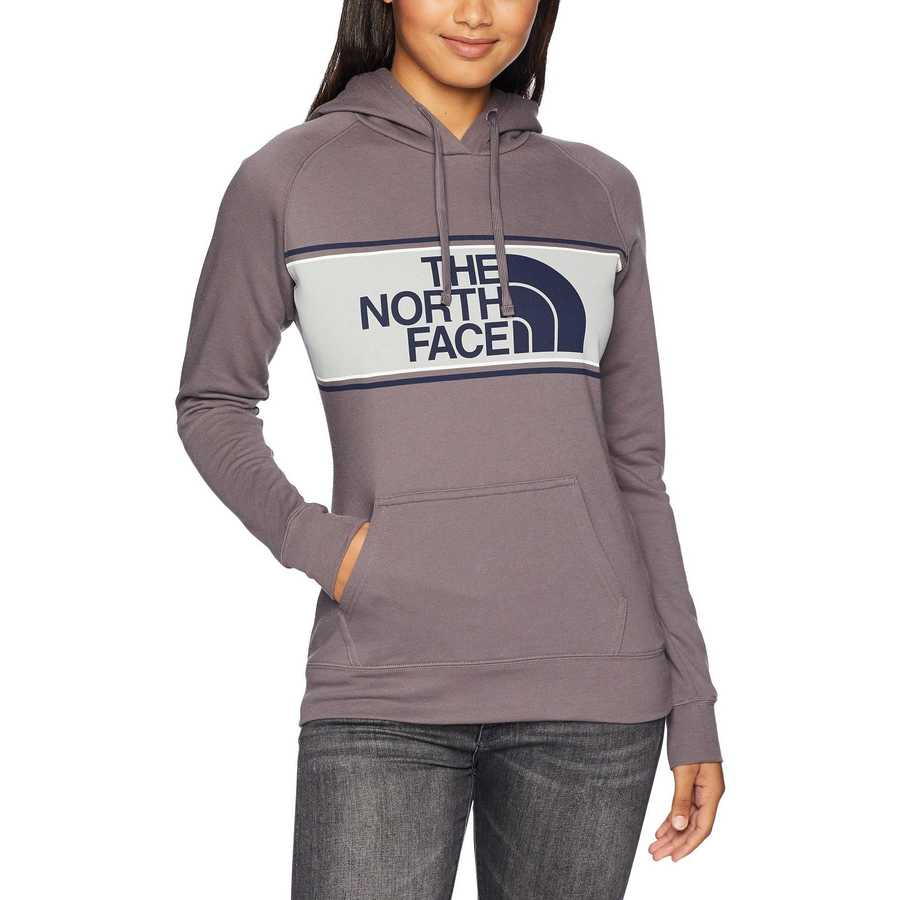 The North Face Rabbit Grey Edge To Edge Pullover Hoodie