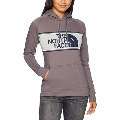 The North Face - The North Face Rabbit Grey Edge To Edge Pullover Hoodie