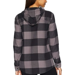 The North Face Rabbit Grey Large Bowden Plaid Stayside Pullover Shirt - Thumbnail