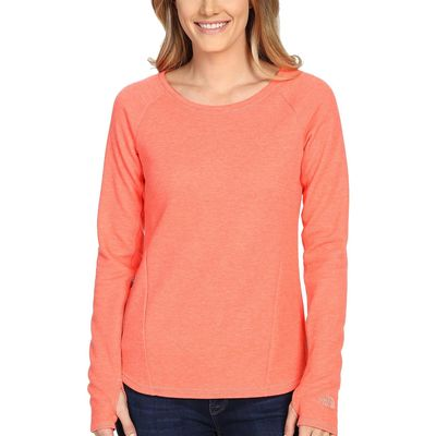 The North Face - The North Face Radiant Orange Heather (Prior Season) Slacker Pullover