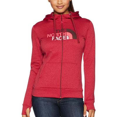 The North Face - The North Face Rumba Red Heather/Fig Multi Fave 1/2 Dome Full Zip 2.0