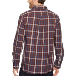 The North Face Sequoia Red Plaid Long Sleeve Hayden Pass Shirt - Thumbnail