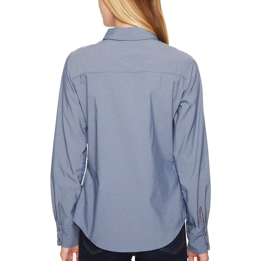 The North Face Shady Blue (Prior Season) Long Sleeve Sunblocker Shirt