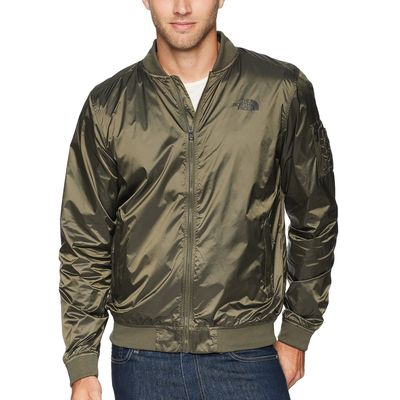 The North Face - The North Face Shiny New Taupe Green Meaford Bomber Iı
