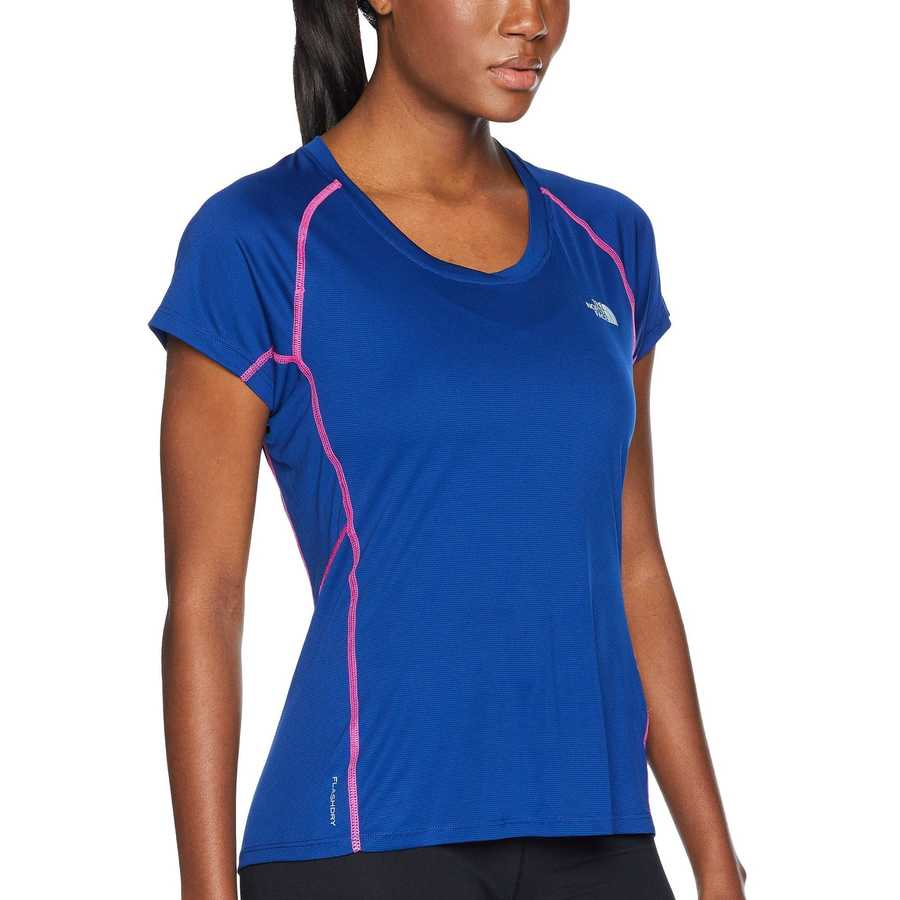 The North Face Sodalite Blue Ambition Short Sleeve Tee