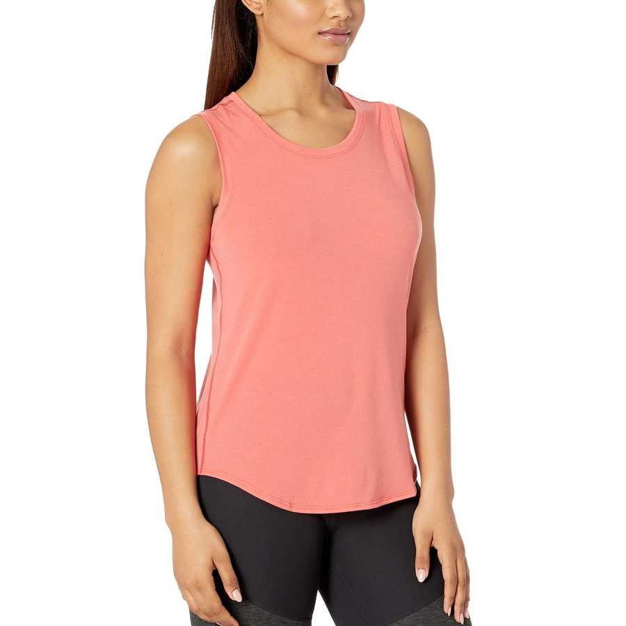 The North Face Spiced Coral Workout Muscle Tank Top
