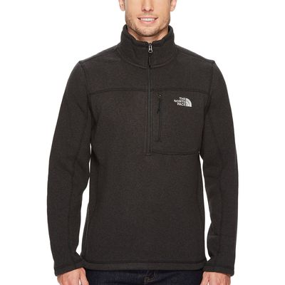 The North Face - The North Face Tnf Black Heather Gordon Lyons 1/4 Zip