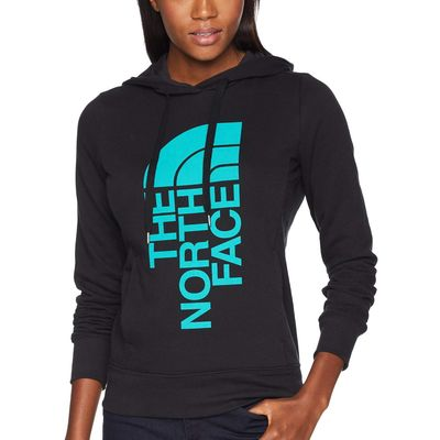 The North Face - The North Face Tnf Black/Kokomo Green Trivert Pullover Hoodie