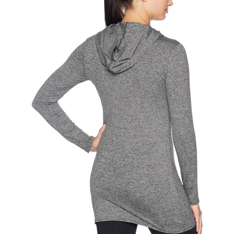 The North Face Tnf Dark Grey Heather Terra Metro Long Sleeve Tunic