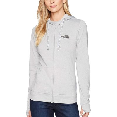 The North Face - The North Face Tnf Light Grey Heather/Asphalt Grey Fave Lite Lfc Full Zip