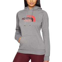 The North Face Tnf Medium Grey Heather Multi Half Dome Pullover Hoodie - Thumbnail
