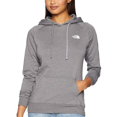 The North Face - The North Face Tnf Medium Grey Heather/Tnf White Red Box Pullover Hoodie