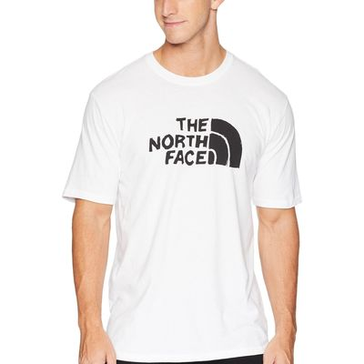 The North Face - The North Face Tnf White Short Sleeve Well-Loved 1/2 Dome Tee