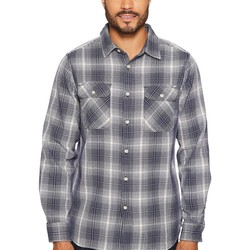 The North Face Urban Navy Plaid Long Sleeve Alpine Zone Shirt - Thumbnail