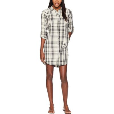 The North Face - The North Face Wild Oat Heather Barrows Plaid Campridge Dress