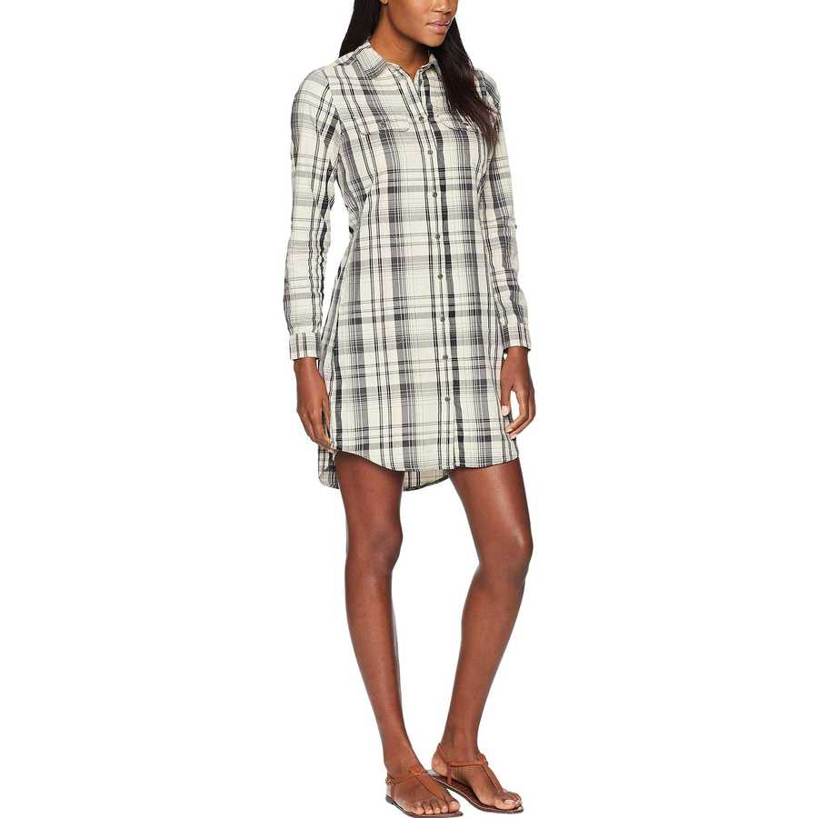 The North Face Wild Oat Heather Barrows Plaid Campridge Dress
