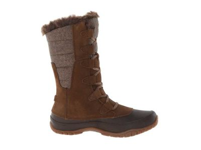 The North Face - The North Face Women's Desert Palm Brown/Feather Grey (Prior Season) Nuptse Purna Winter Snow Boots 8138510743951